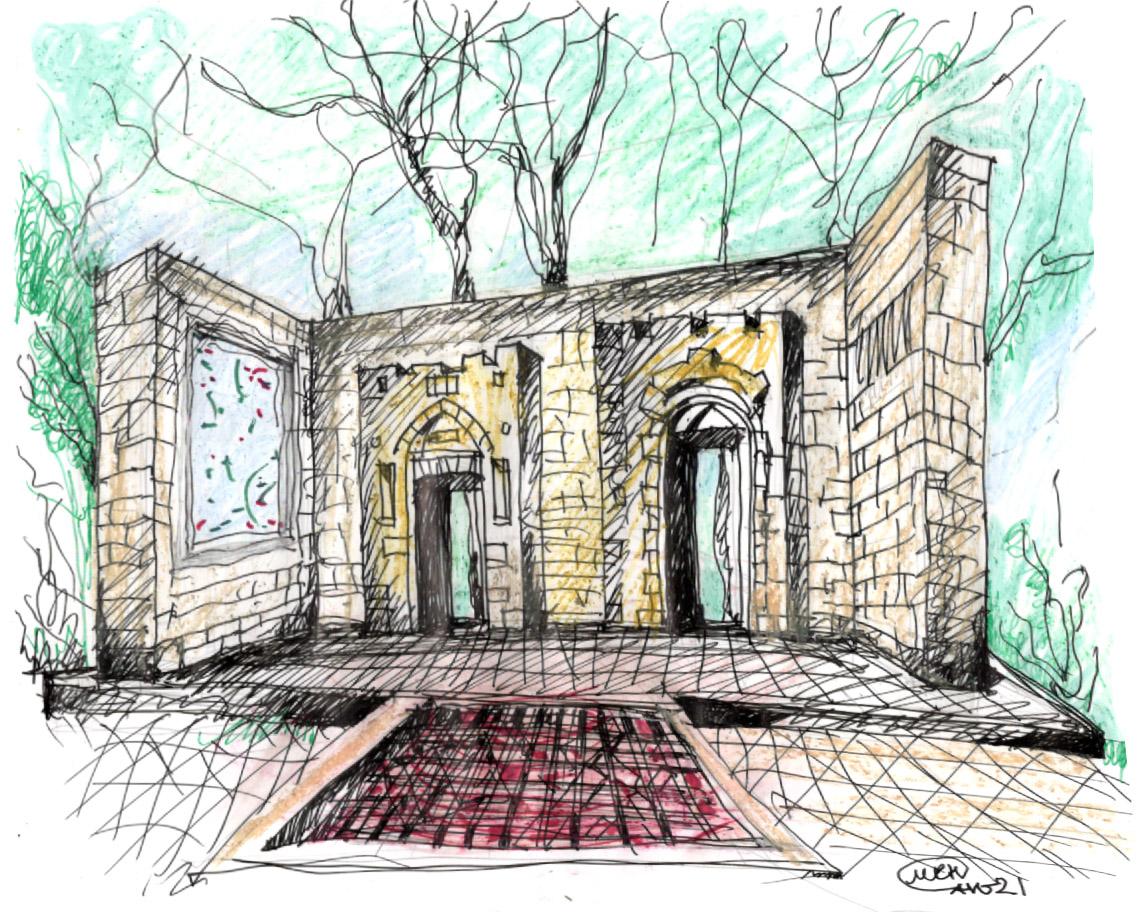 Gates of Life - Sketch-1-21