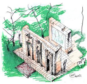 Gates of Life - Sketch-2-21