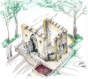 Gates of Life - Sketch-3-21